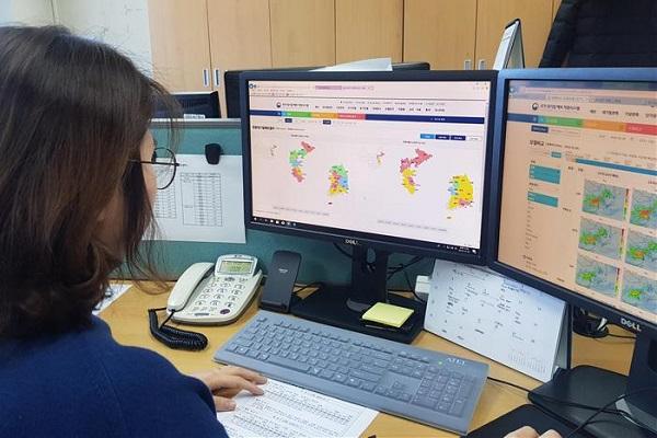 국립환경과학원은 지난해 12월 27일부터 한중 간 대기질 예보정보 교류 통해 국내 예보시 활용한다고 전했다.