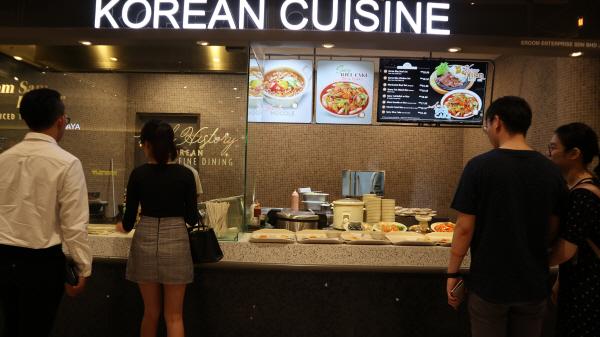 한국음식 전문 식당가에는 말레이시아 사람뿐만 아니라 관광객들도 많이 찾고 있다.