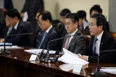 """기재부 차관 """"신종 코로나바이러스 경제영향 최소화"""""""