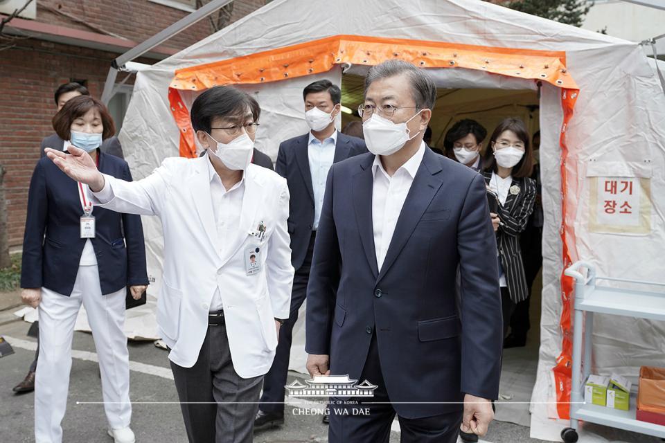 대한민국은 지금 '신종 코로나바이러스 감염증' 총력 대응 중!