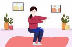 실내에서 하는 무릎 통증 예방 운동법