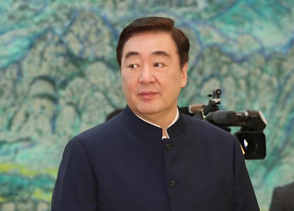 지난 7일 오전 청와대에서 열린 신임장 제정식에 참석한 싱하이밍 주한 중국대사. (사진=저작권자(c) 연합뉴스, 무단 전재-재배포 금지)