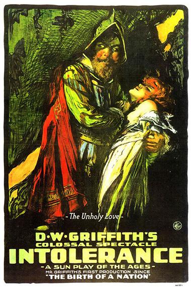 데이비드 W. 그리피스 감독의 <인톨러런스> (포스터=KMDb 한국영화데이터베이스)