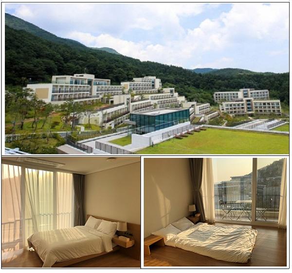 경북대구1 생활치료센터 현장 사진. (사진=보건복지부 제공)