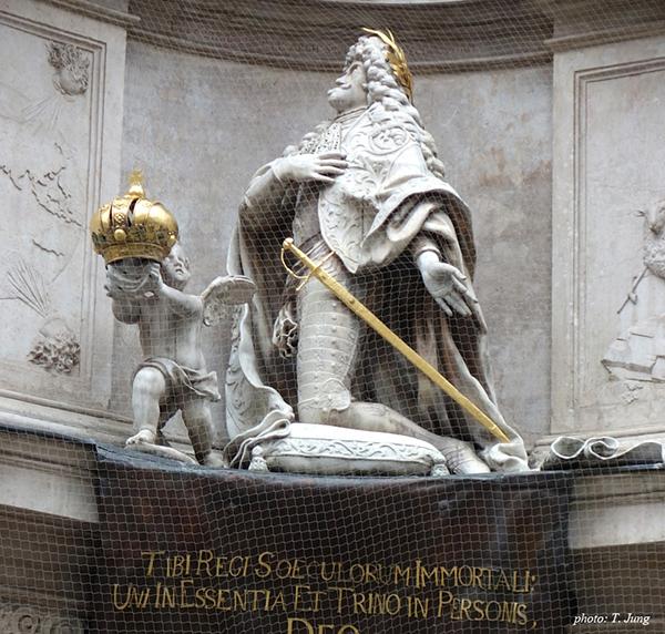 무릎 꿇은 황제 레오폴트 1세