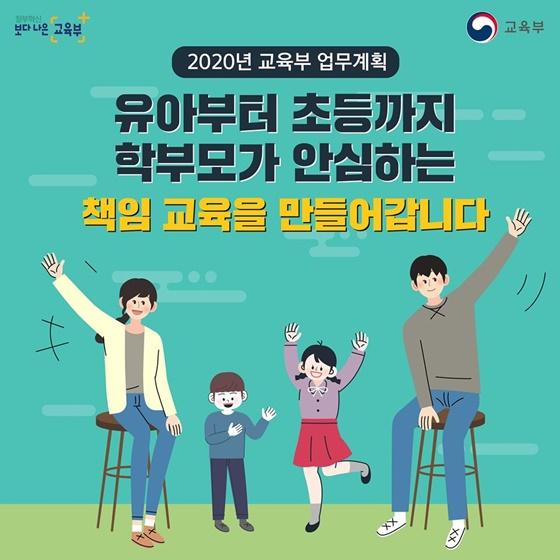 2020년 교육부 업무계획