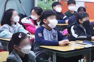 유치원·초등 저학년용 소형 마스크 306만장 비축 완료