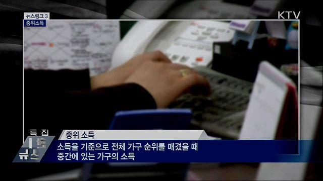 중위소득 [뉴스링크]