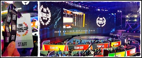 지난해 열린 e-스포츠 국제대회에서 응원하는 관중들의 모습이 새롭게 다가왔다.