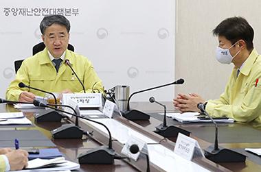 """박능후 복지장관 """"코로나19 방심은 절대 금물…언제라도 일상 위협"""""""