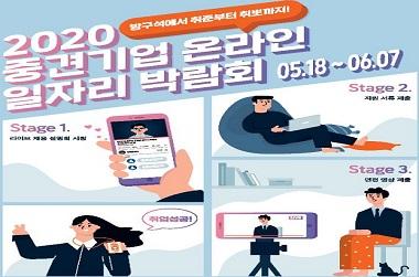 중견기업 온라인 일자리 박람회 개막…34개사 300명 채용
