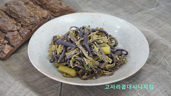 고사리콥대사니지짐(사진=양용진 낭푼밥상 대표 제공).