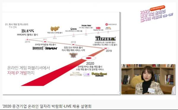 중견기업 채용설명회, 출처=2020 중견기업 온라인 일자리 박람회