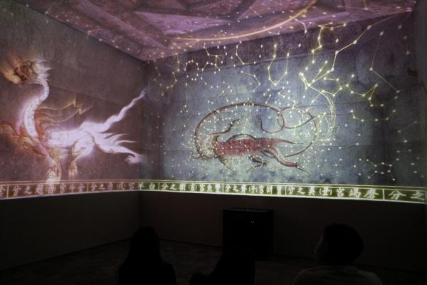 고구려실에 위치한 디지털실감영상관 3관.