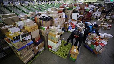 정부, 전국 물류창고·택배 터미널  1400여곳 방역 점검