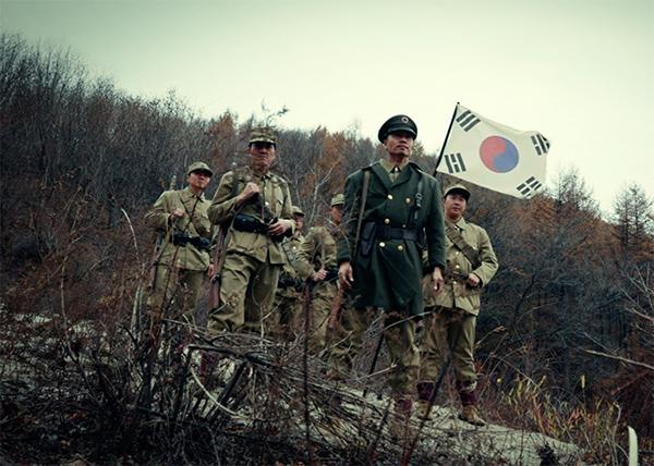 '봉오동 전투' 재연 영상.