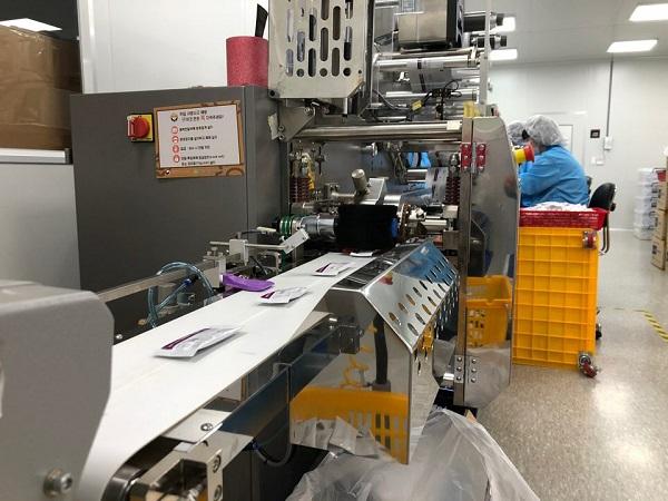 수젠텍은 1주일에 200만개의 진단키트를 생산하고 있다.(사진=수젠텍)