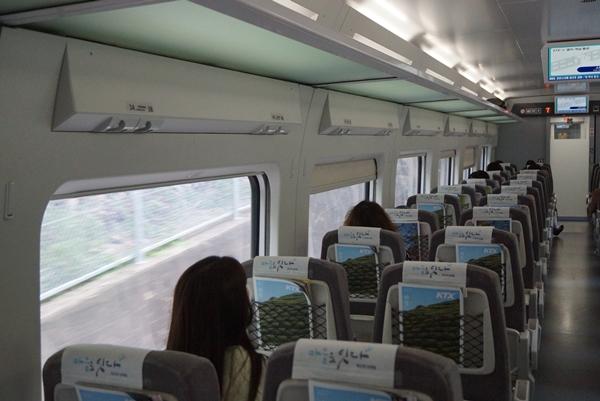 KTX 타고 동해역까지, 생활 속 거리두기 기차여행