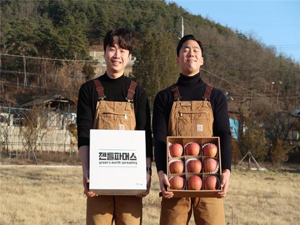 로컬 크리에이터로 선정된 경북 의성 지역 '젠틀파머스'.(사진=중소벤처기업부 제공)