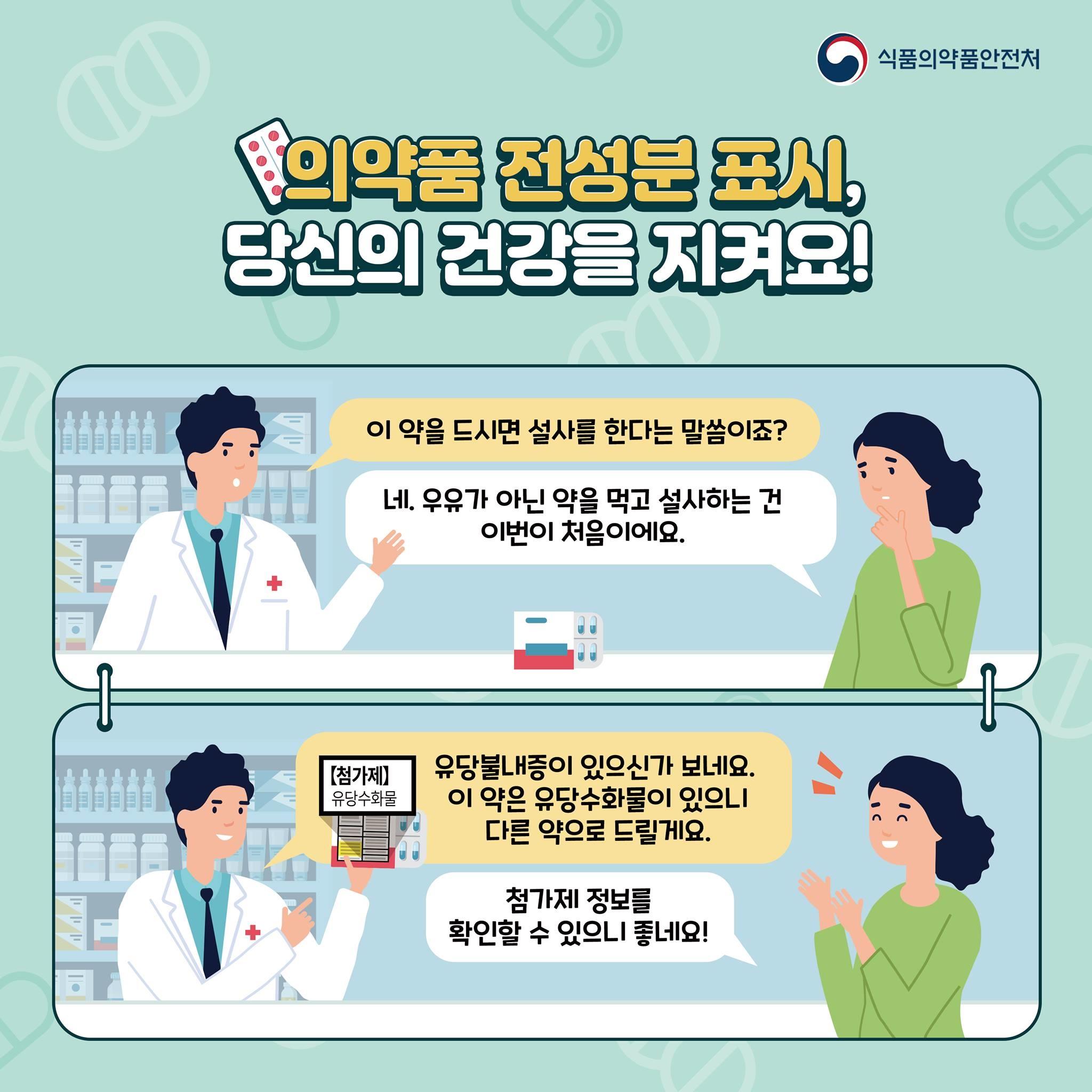 의약품 전성분 표시제도
