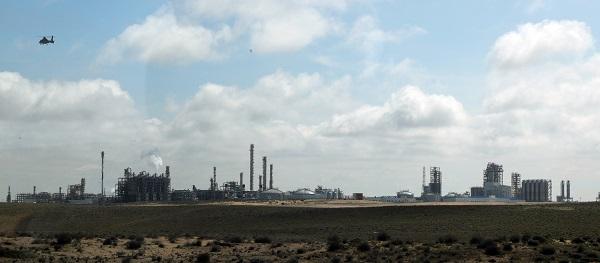 한국기업들이 주도적으로 건설한 투르크멘바시 키얀리 가스화학 플랜트. (저작권자(c) 연합뉴스, 무단 전재-재배포 금지)