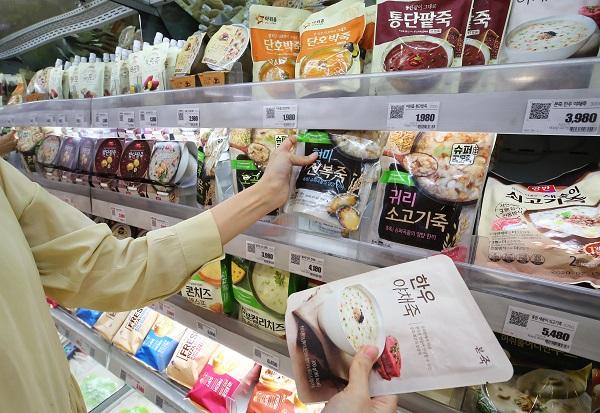 1인 가구 증가와 신종 코로나바이러스 감염증(코로나19) 확산으로 각종 모임이 줄면서 1인용 제품에 대한 수요가 증가하고 있다. (저작권자(c) 연합뉴스, 무단 전재-재배포 금지)