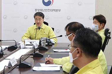 """박능후 복지장관 """"방문판매, 국민이 방역감시자 되어주시길"""""""