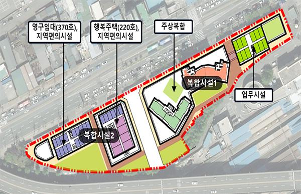 영등포 쪽방촌 토지이용구상(안).