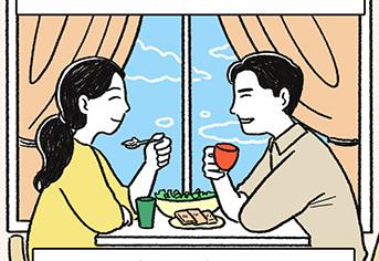 [웹툰] 인생의 2막, 새로운 꿈을 펼칠 신혼집 구하기
