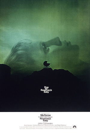 - 영화 <로즈마리의 아기> 포스터. (사진=한국영화데이터베이스 http://www.kmdb.or.kr)