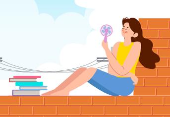 휴대용 선풍기, 안전하게 사용하려면?