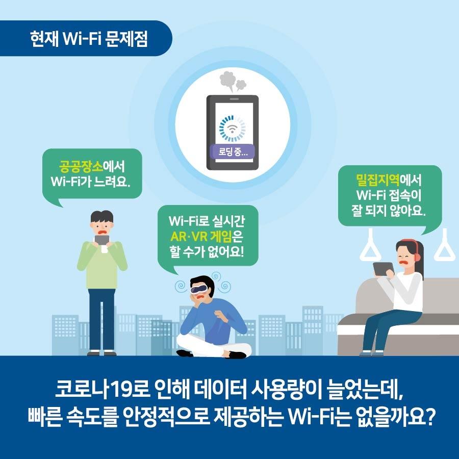 슬기로운 5G급 Wi-Fi 생활, 식스맨과 함께 시작하세요!