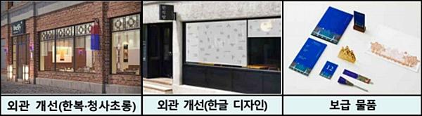 이제 해외 한국식당들이 한국식으로 변모하게 된다. <출처=문체부>