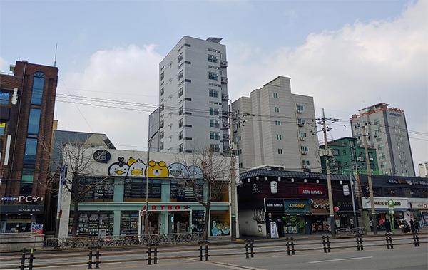 서울 은평구 기숙사형 청년주택 리치스페이스.
