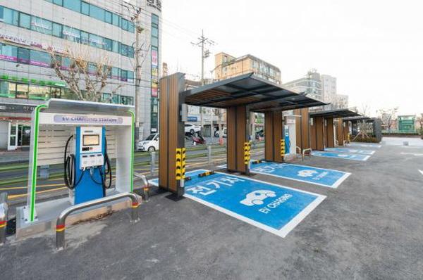 서울 양천구 신월동의 전기차충전소.(출처=양천구청)
