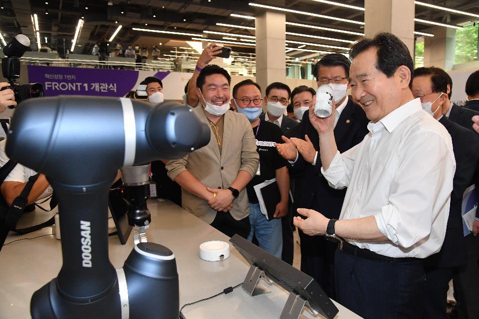 로봇 바리스타가 만들어 준 커피, 맛은요?