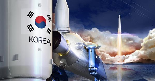 우주발사체 일러스트.(저작권자(c) 연합뉴스, 무단 전재-재배포 금지)