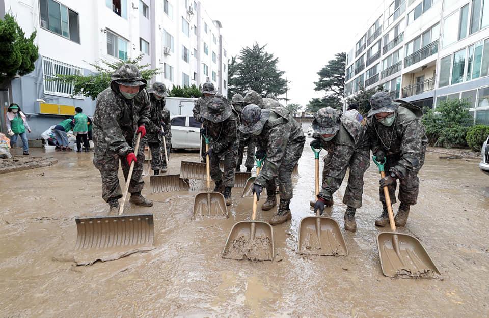 육군 32사단, 오늘은 수해복구 대작전!