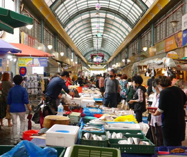 전통시장 할인행사는 9월 1일부터 시작된다.
