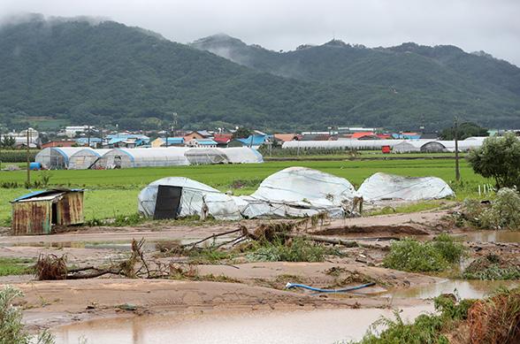 호우피해 안성·철원·충주 등 7개 시군 특별재난지역 선포