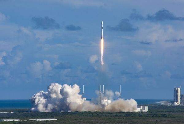 아나시스 2호가 미국 케이프 커내버럴 케네디 우주센터에서 발사되고 있다. (출처=방사청)