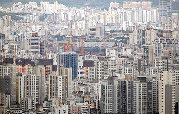 서울 시내 아파트 단지 모습. (사진=저작권자(c) 연합뉴스, 무단 전재-재배포 금지)