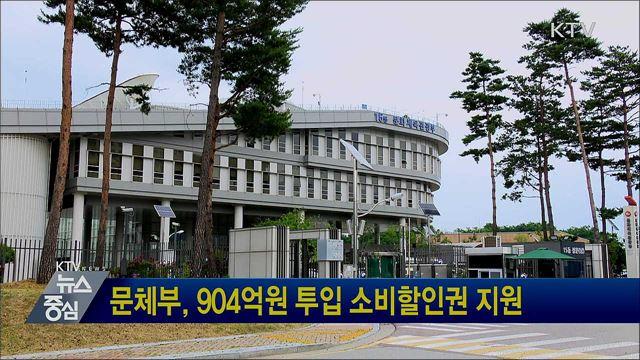 문체부, 904억원 투입 소비할인권 지원