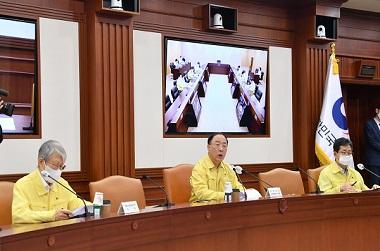 """홍 부총리 """"핵심 수출형 서비스산업에 2023년까지 4.6조원 공급"""""""