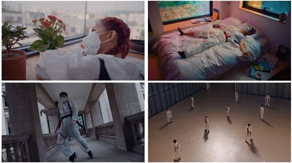 '그날까지' 영상 주요 장면.