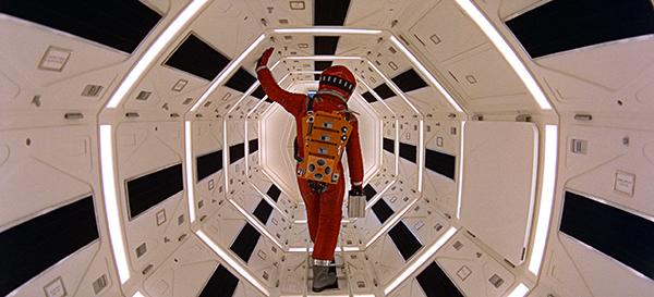 영화 '2001:A Space Odyssey'에서 우주선 내부의 한 장면. (사진=저작권자(c) 연합뉴스/AP, 무단 전재-재배포 금지)