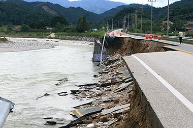 태풍피해 삼척·양양·영덕·울진·울릉 특별재난지역  선포