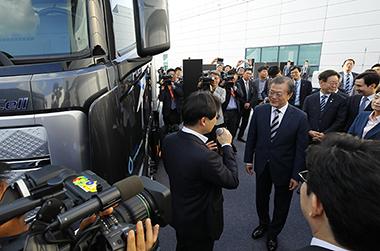 수소차 핵심부품 '수소연료전지' 유럽으로 첫 수출