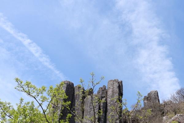 수만년 풍화를 이겨낸 무등산 서석대