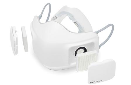 공기청정 기능이 접목된 전자식 마스크. (사진=특허청)